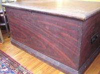 Grained Pine Chest