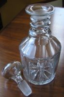 William IV Flint Glass Decanter